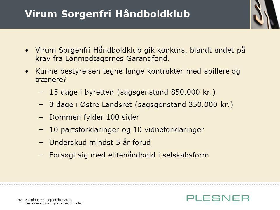 Virum Sorgenfri Håndboldklub