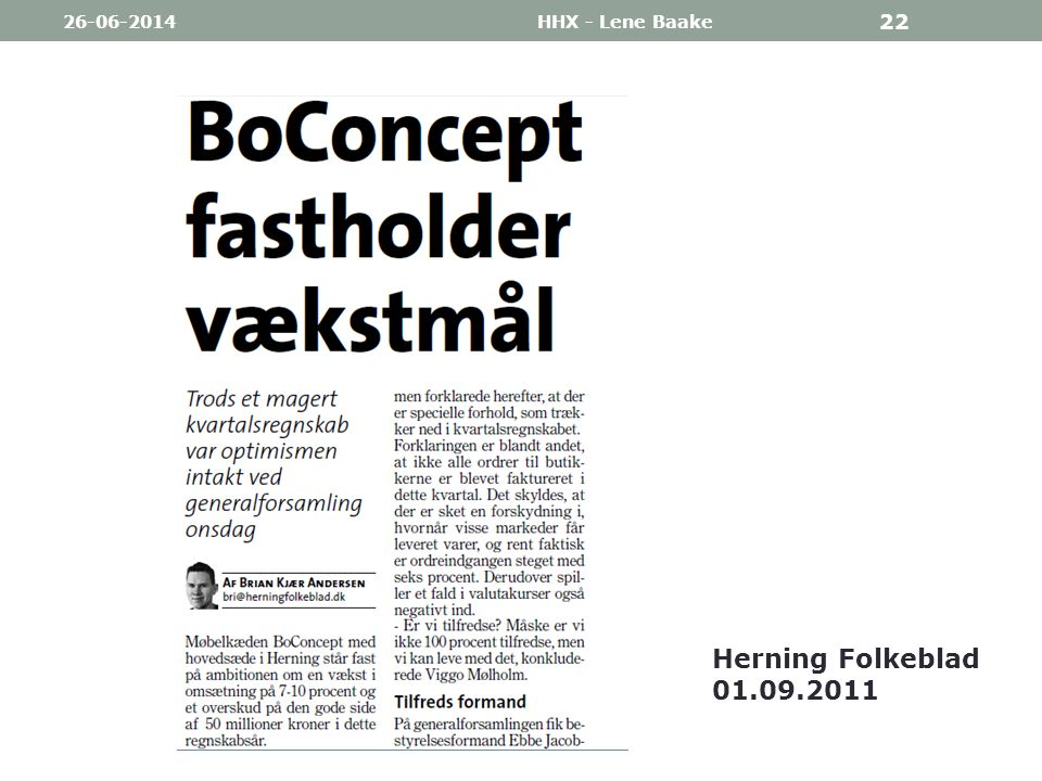 03-04-2017 HHX - Lene Baake Herning Folkeblad 01.09.2011