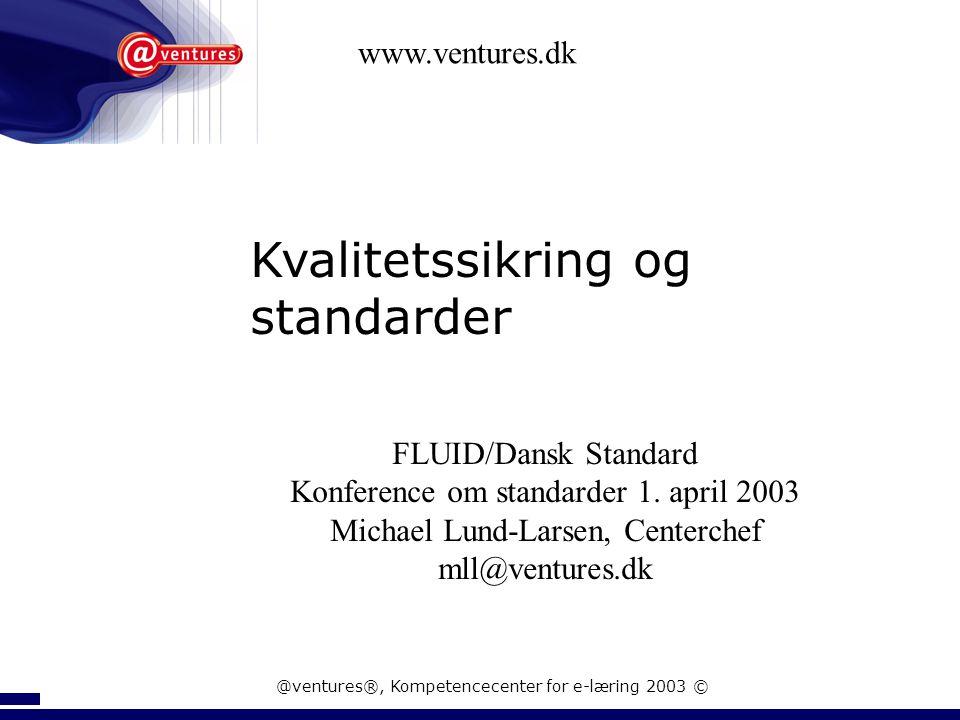 FLUID & DS - Konference om standarder og læringsobjekter