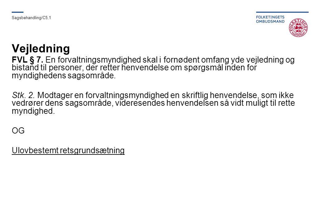 Sagsbehandling/C5,1 Vejledning.