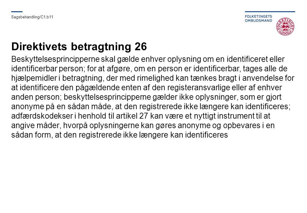 Direktivets betragtning 26
