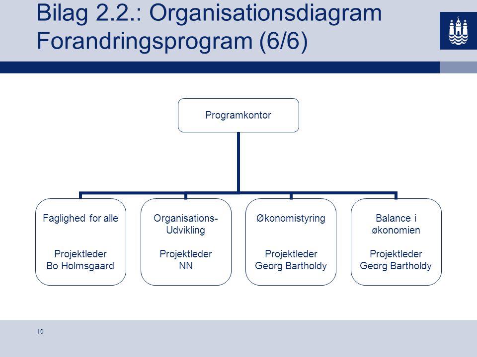 Bilag 2.2.: Organisationsdiagram Forandringsprogram (6/6)