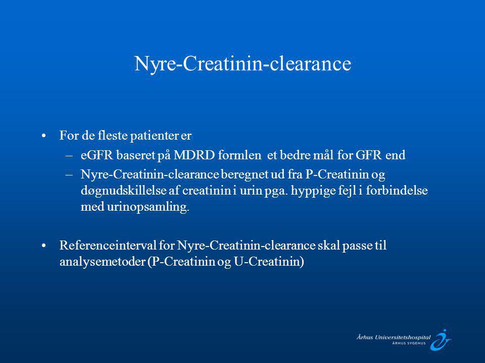Nyre-Creatinin-clearance