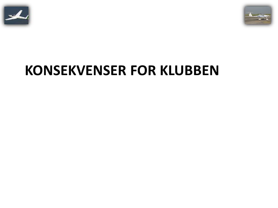 Konsekvenser for klubben