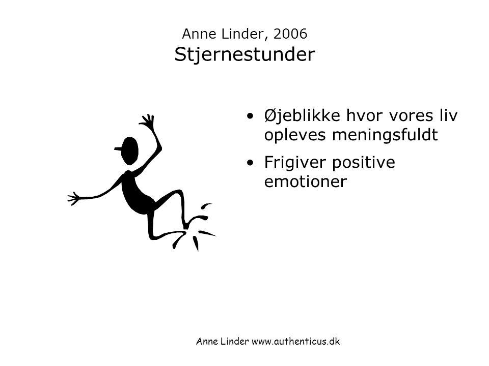 Anne Linder, 2006 Stjernestunder