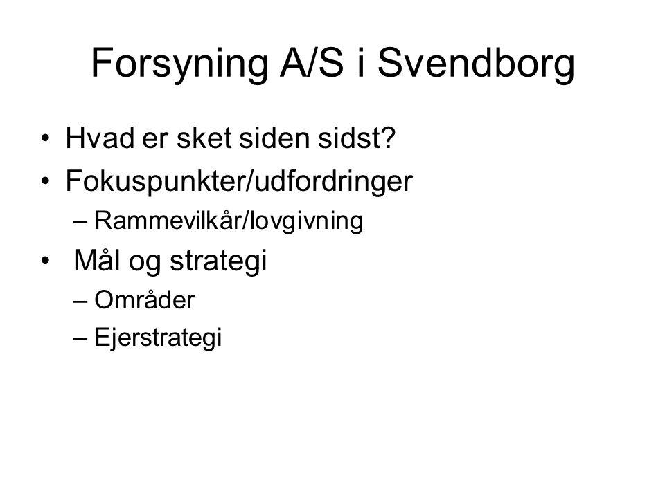Forsyning A/S i Svendborg