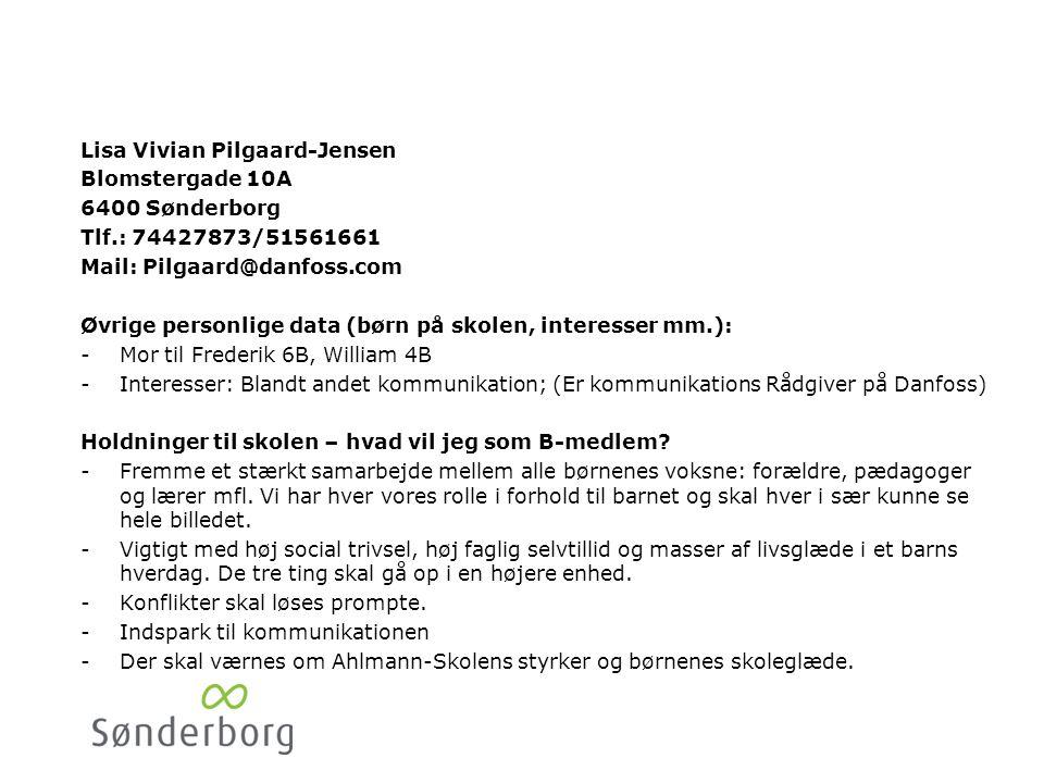 Johan Møller Bogstrøm Parkgade 22,1. 6400 Sønderborg. Tlf.: 25893292. Mail: johan.budh@gmail.com.