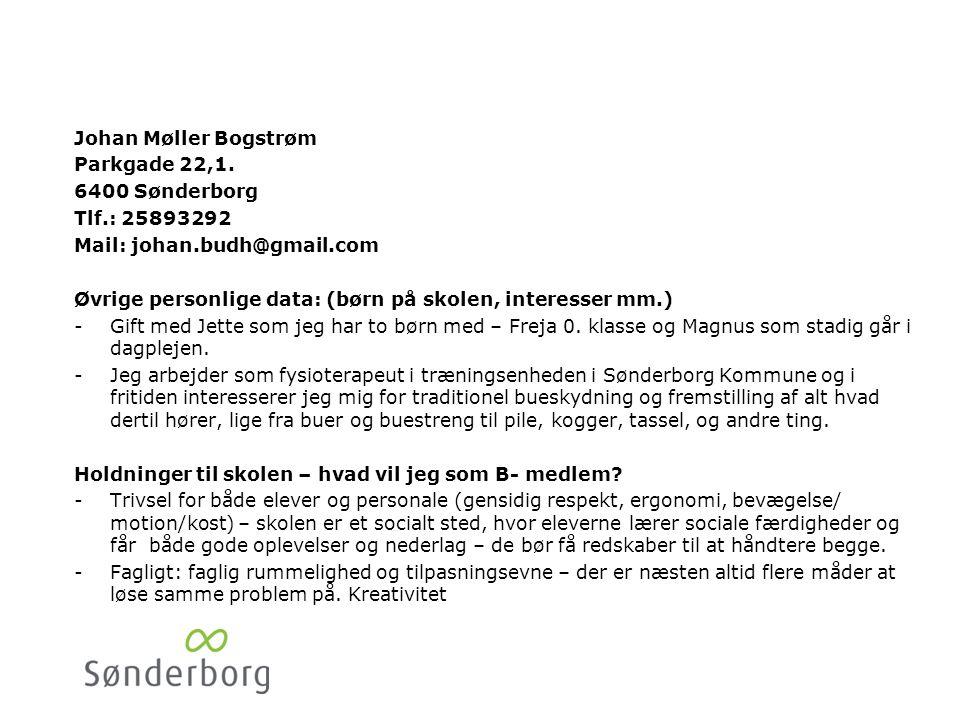 Christian Gørtz Kongevej 61. 6400 Sønderborg. Tlf.: 74420125/29245413. Mail: C_Gørtz@danfoss.com.