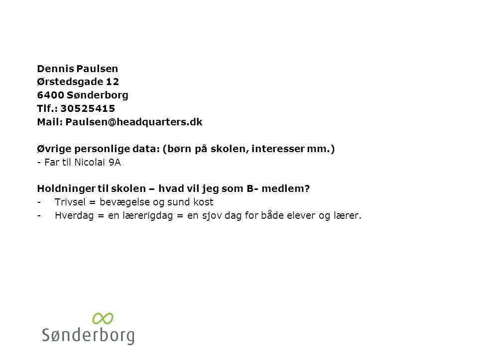 Stine Honoré Ahlmannsvej 12. 6400 Sønderborg. Tlf.: 51524944. Mail: sth@universefonden.dk.