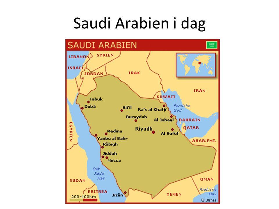 Saudi Arabien i dag
