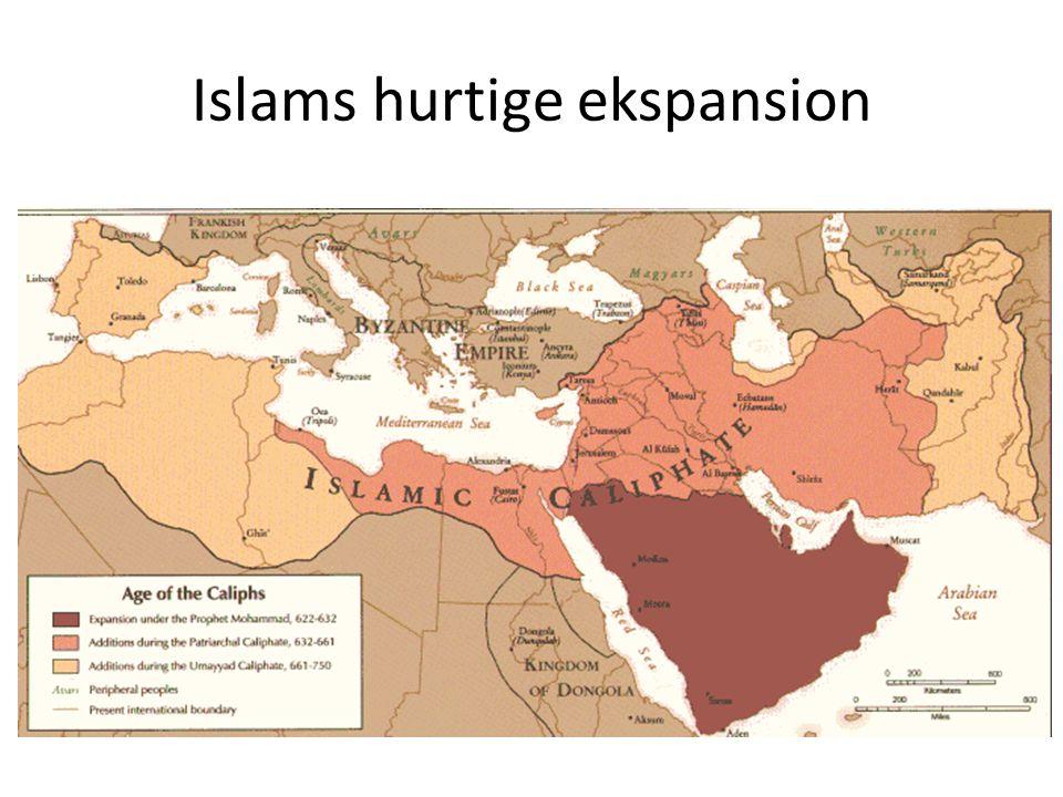 Islams hurtige ekspansion