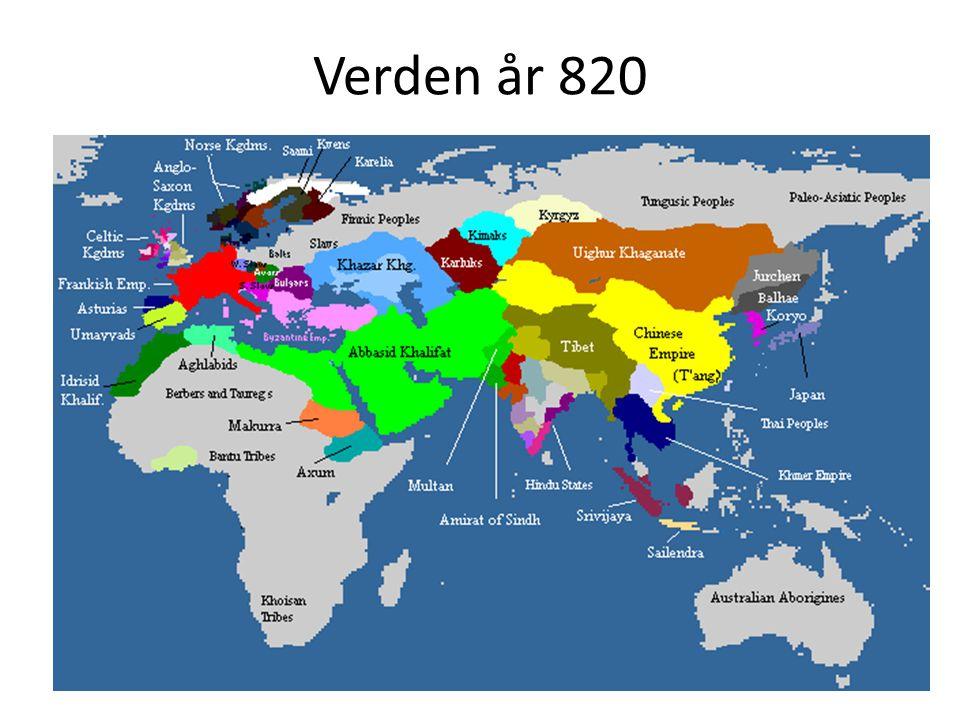 Verden år 820