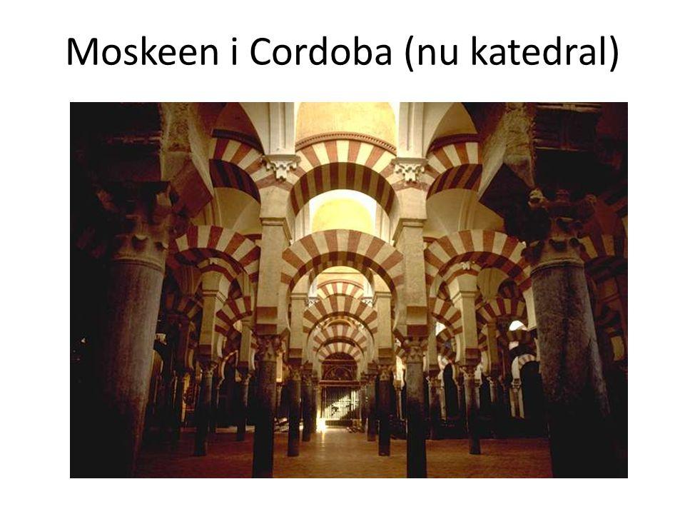 Moskeen i Cordoba (nu katedral)