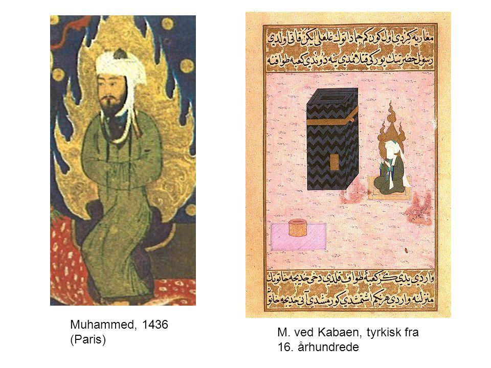 Muhammed, 1436 (Paris) M. ved Kabaen, tyrkisk fra 16. århundrede
