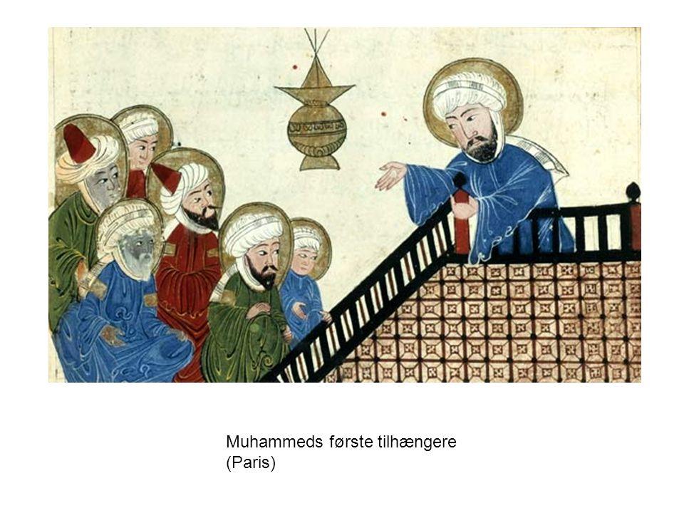 Muhammeds første tilhængere