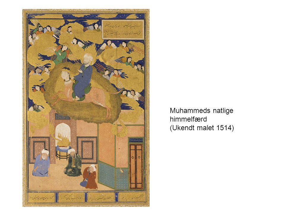 Muhammeds natlige himmelfærd