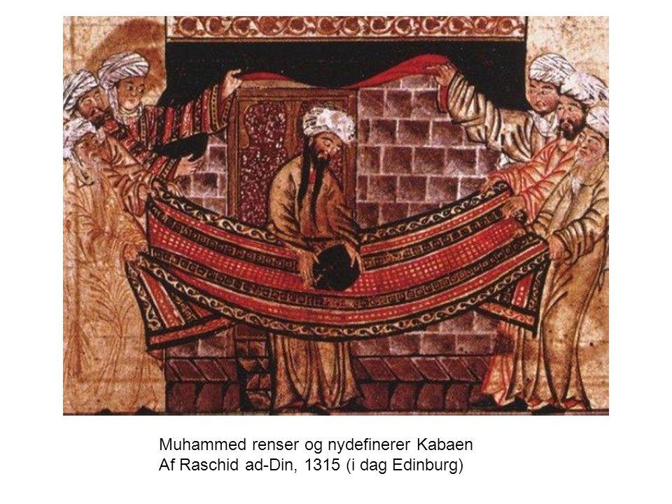 Muhammed renser og nydefinerer Kabaen