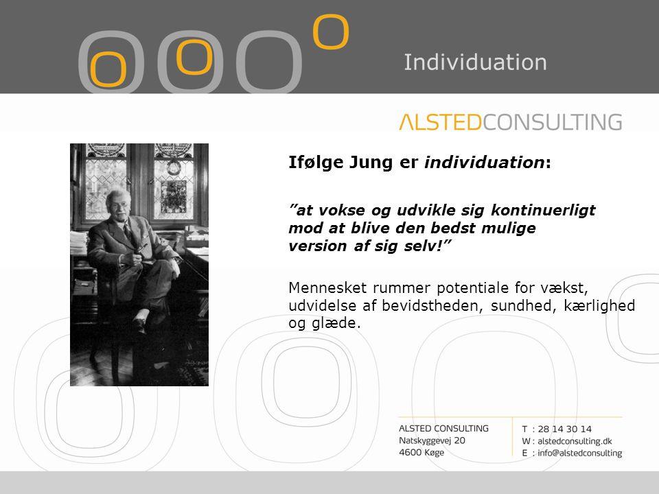 Ifølge Jung er individuation:
