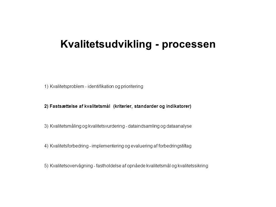 Kvalitetsudvikling - processen