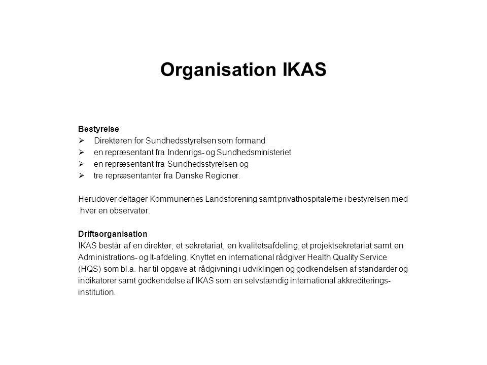 Organisation IKAS Bestyrelse