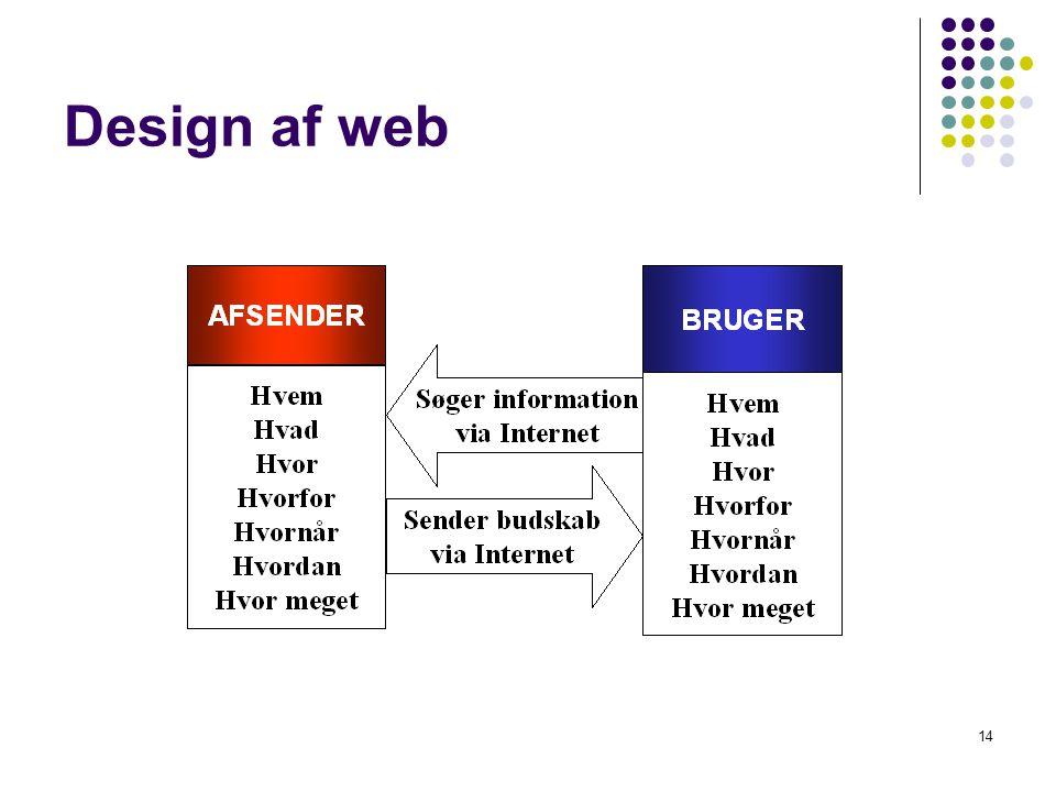 Design af web