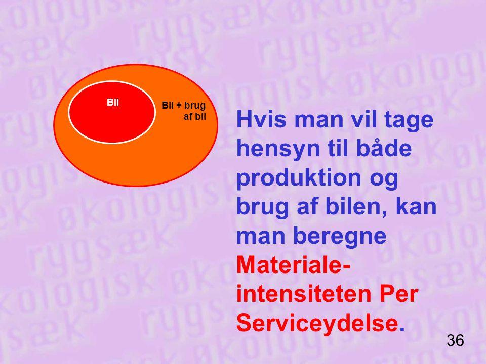 intensiteten Per Serviceydelse.