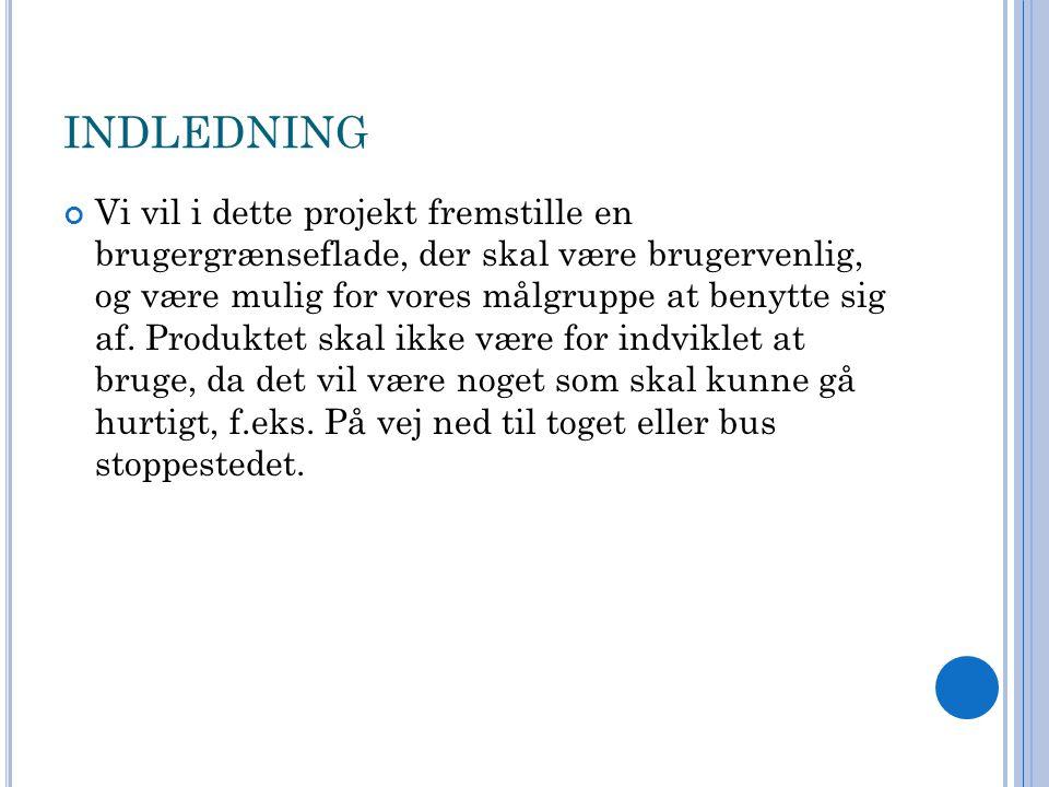 INDLEDNING