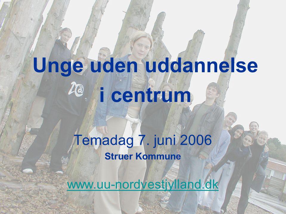 Temadag 7. juni 2006 Struer Kommune www.uu-nordvestjylland.dk