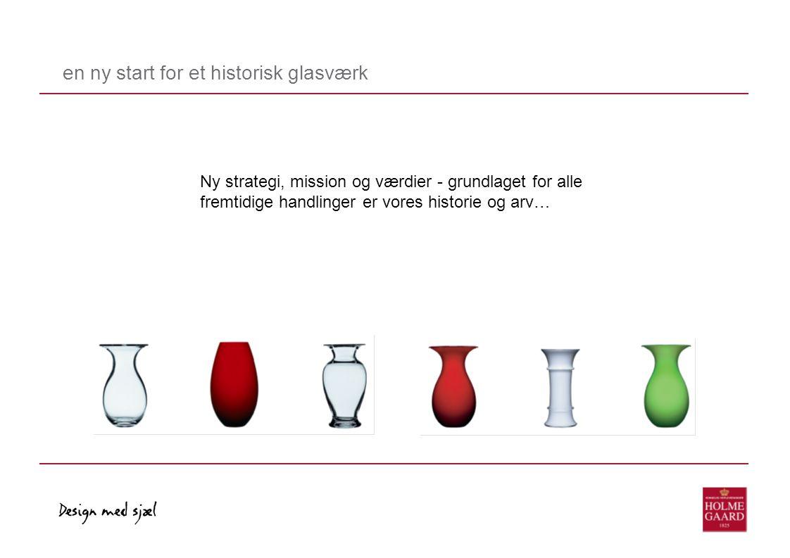 en ny start for et historisk glasværk