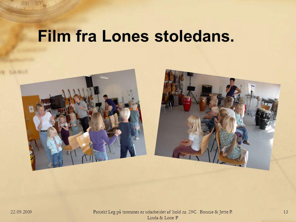 Film fra Lones stoledans.