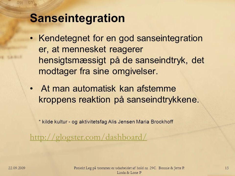 Sanseintegration