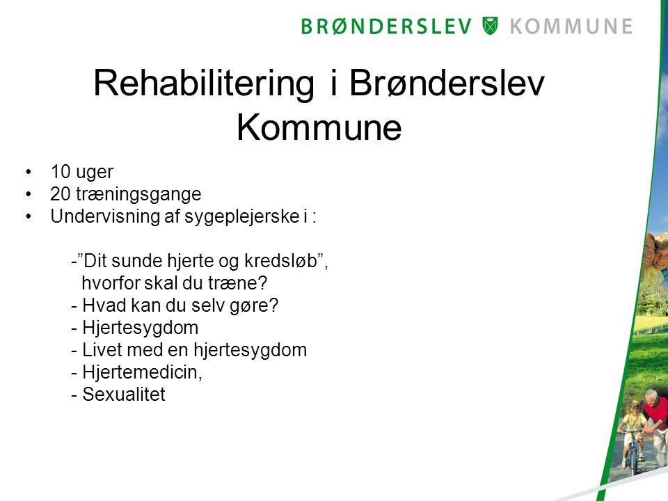 Rehabilitering i Brønderslev Kommune