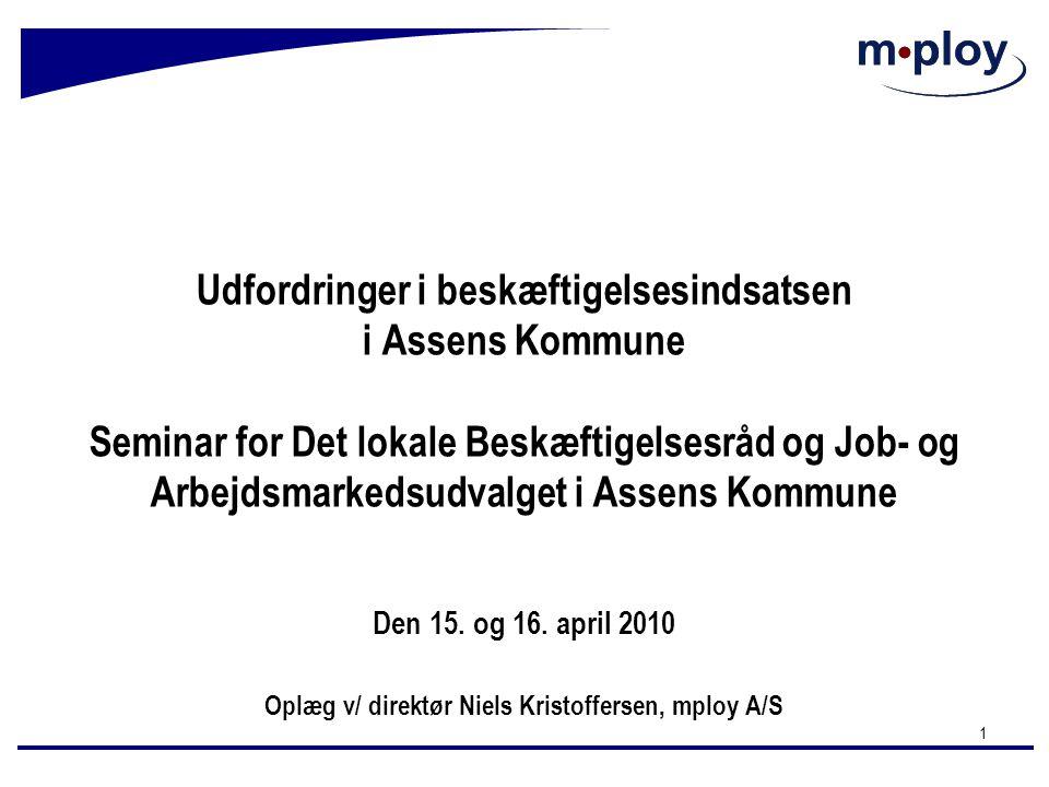 Oplæg v/ direktør Niels Kristoffersen, mploy A/S