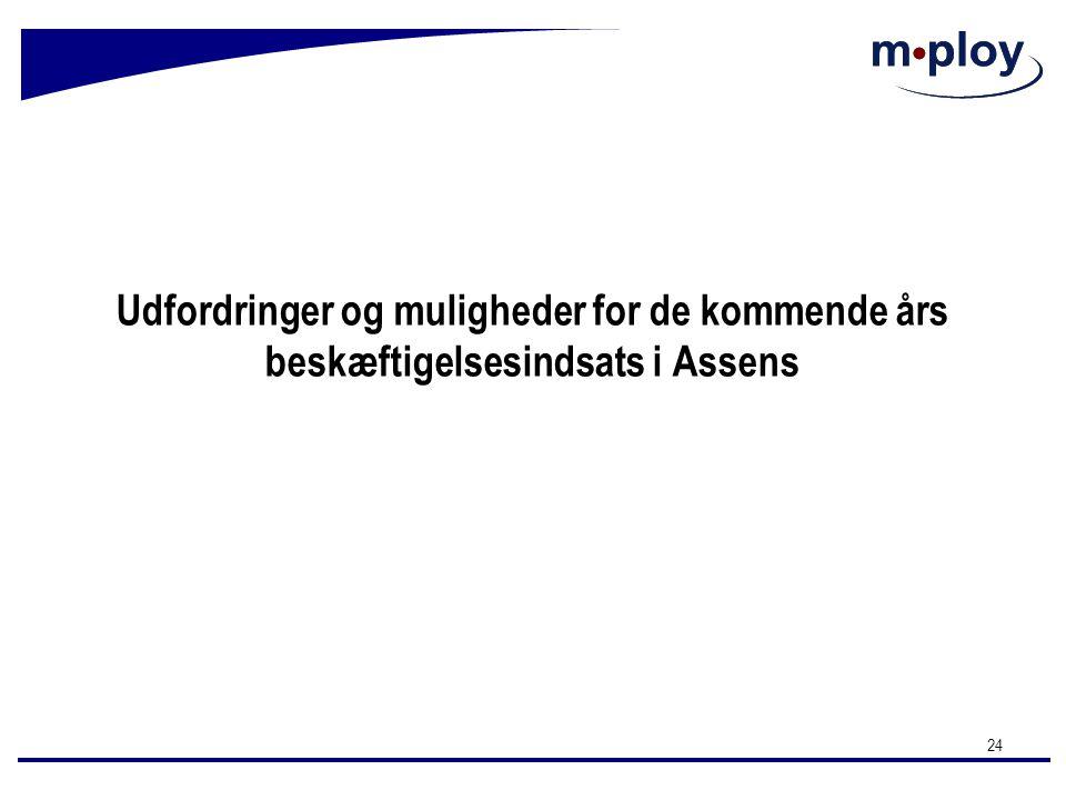 Udfordringer og muligheder for de kommende års beskæftigelsesindsats i Assens