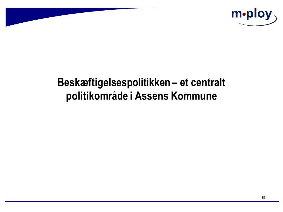 Beskæftigelsespolitikken – et centralt politikområde i Assens Kommune
