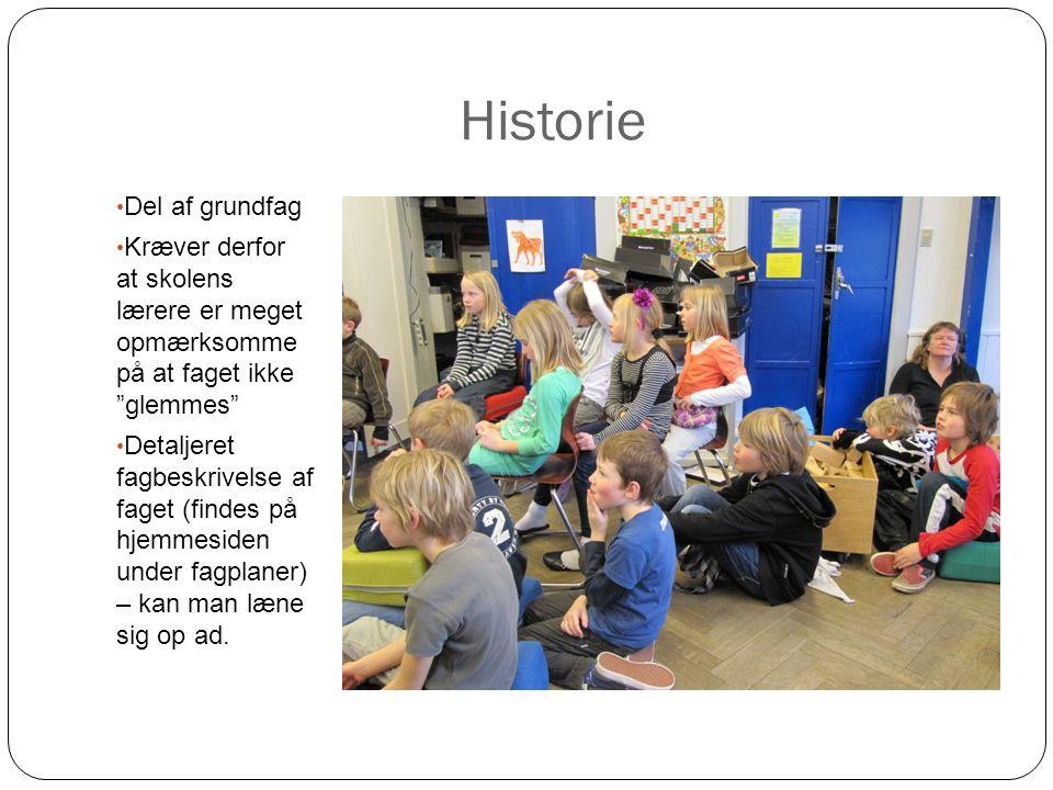 Historie Del af grundfag