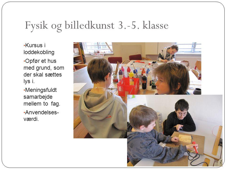 Fysik og billedkunst 3.-5. klasse
