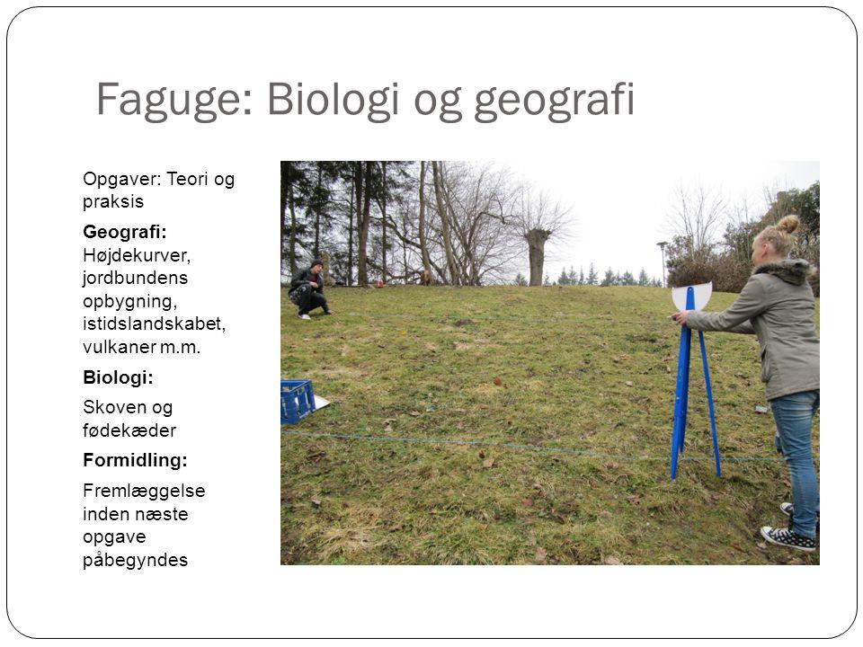Faguge: Biologi og geografi