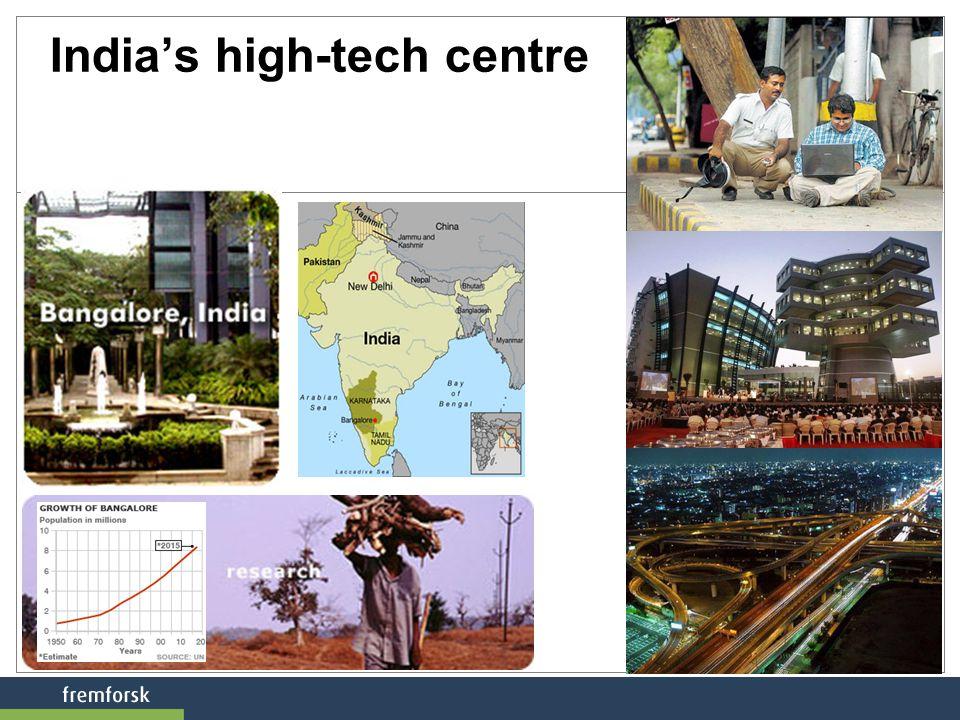 India's high-tech centre