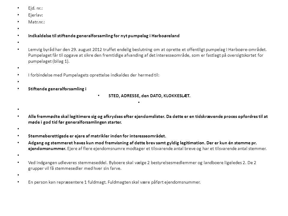 Stiftende generalforsamling - ppt download