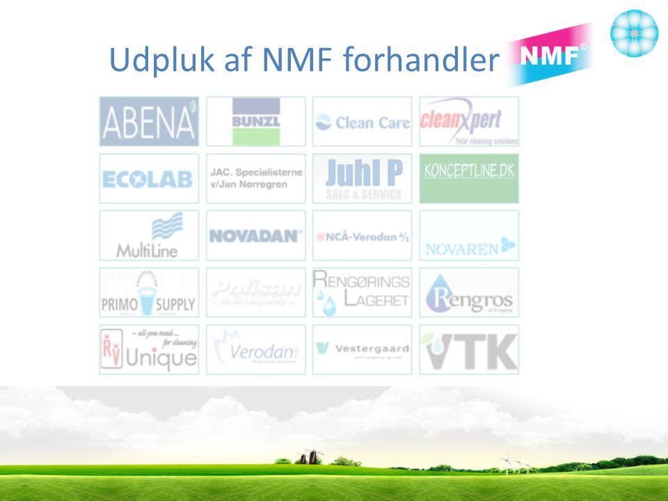 Udpluk af NMF forhandler