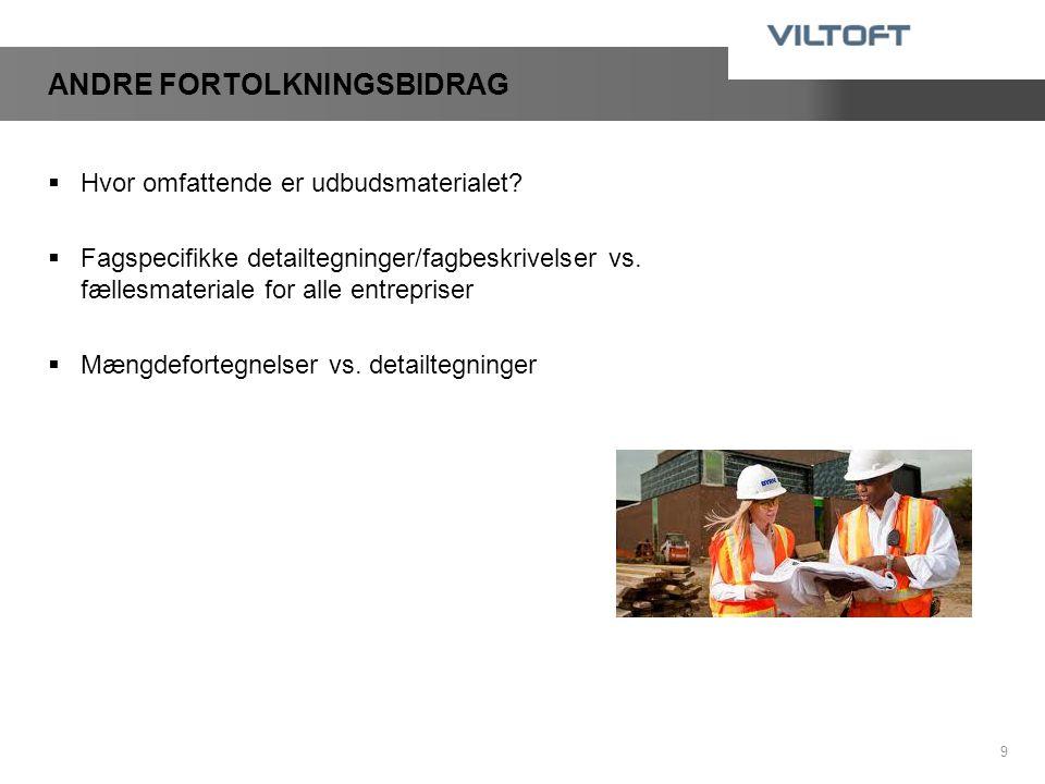 ANDRE FORTOLKNINGSBIDRAG