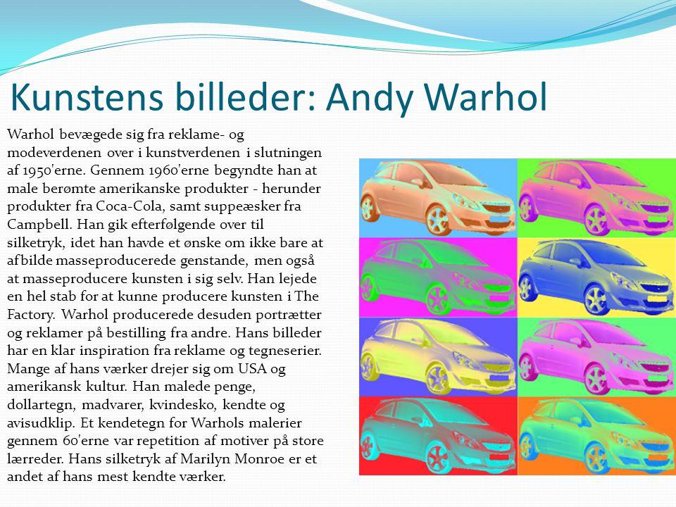 Kunstens billeder: Andy Warhol