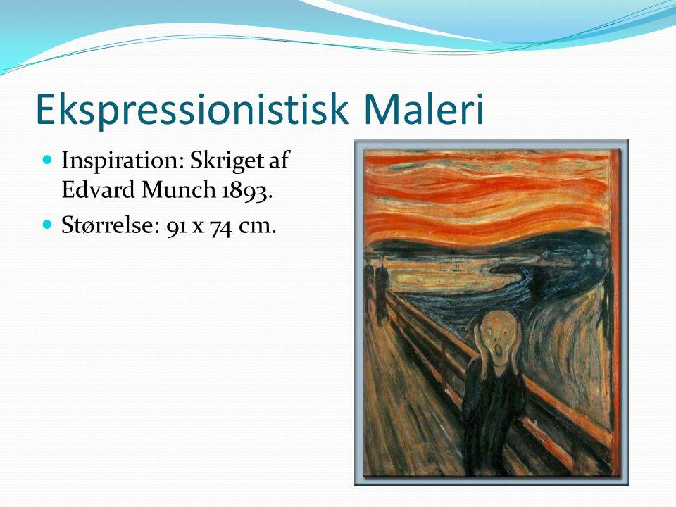 Ekspressionistisk Maleri