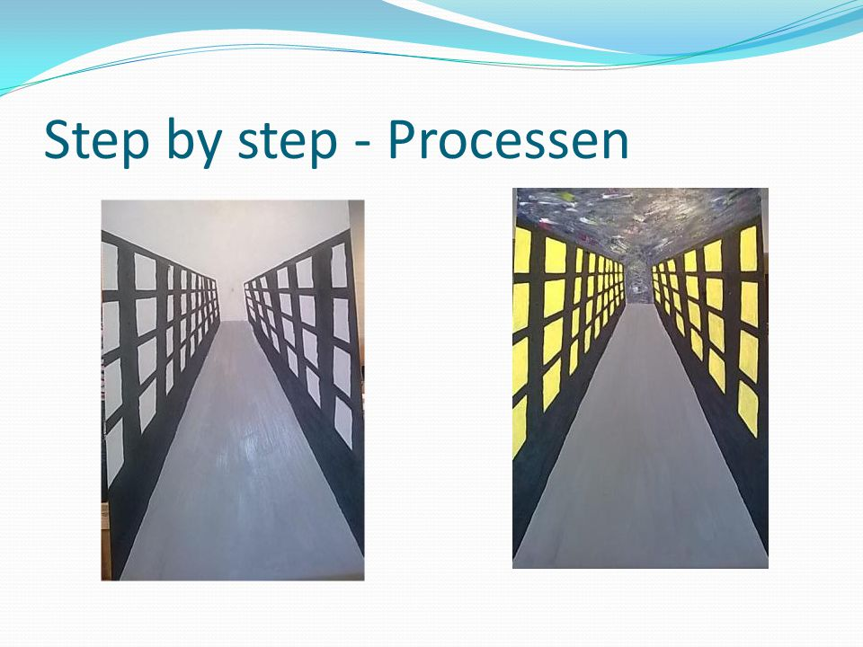Step by step - Processen