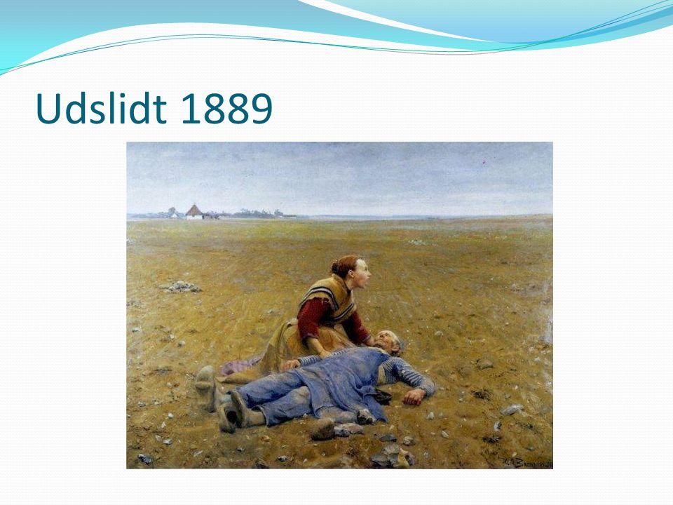 Udslidt 1889