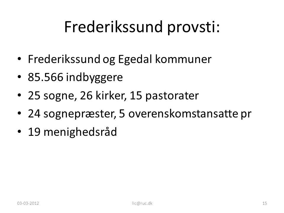 Frederikssund provsti: