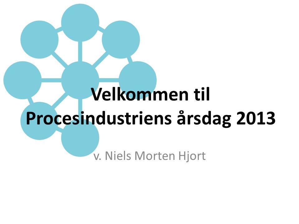 Velkommen til Procesindustriens årsdag 2013