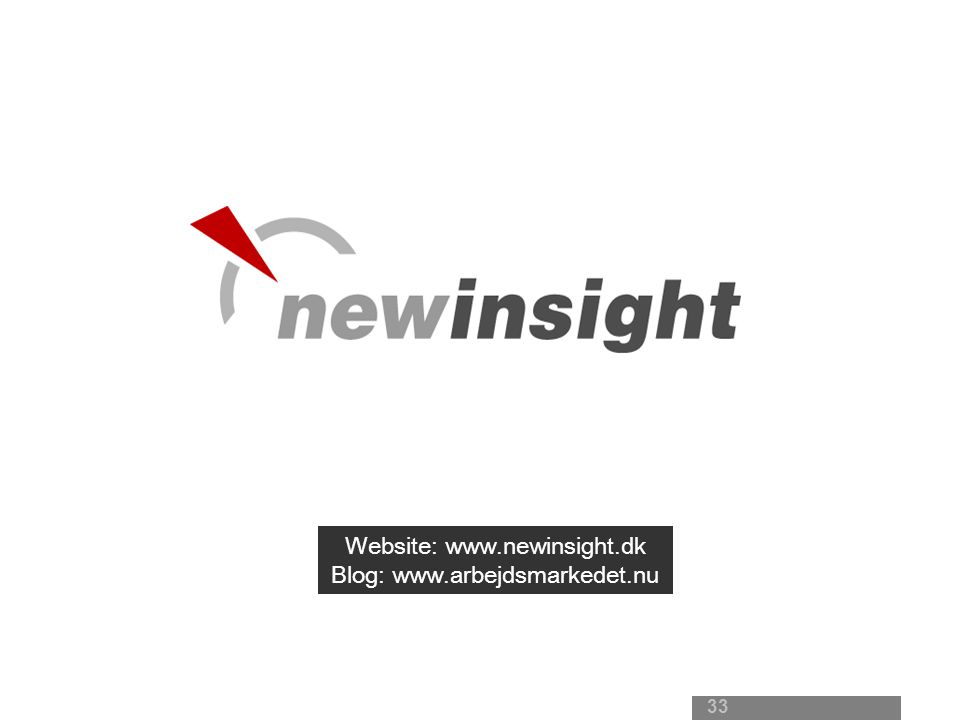 New Insight - Noter til præsentation