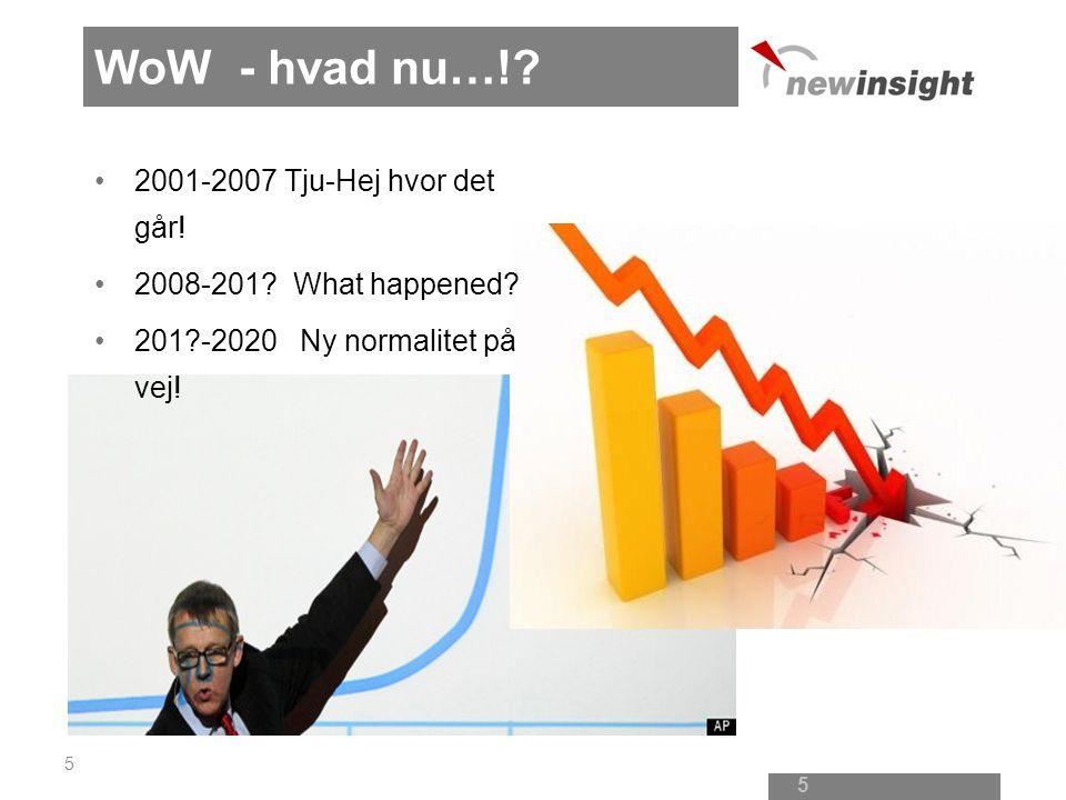 WoW - hvad nu…! 2001-2007 Tju-Hej hvor det går!